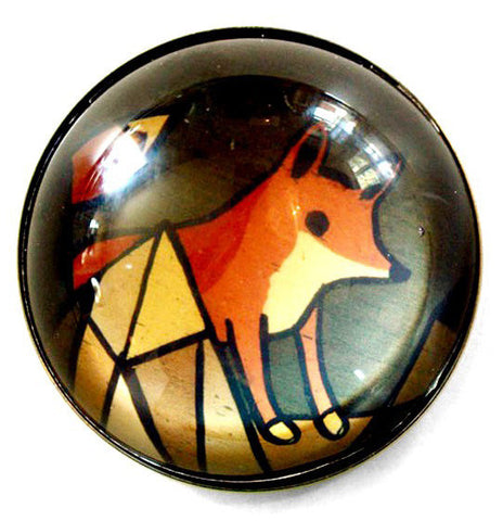 Large Red Fox Magnet by Susie Ghahremani / boygirlparty.com