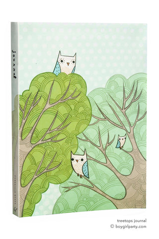 Treetops Journal (by Susie Ghahremani) at http://shop.boygirlparty.com