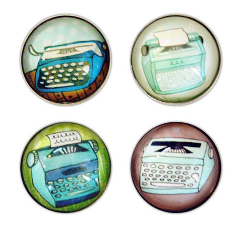 Typewriter Magnet Set by Susie Ghahremani / boygirlparty.com