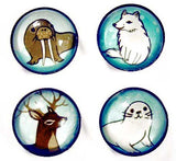 Winter Animals Magnet by Susie Ghahremani / boygirlparty.com