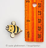 Cat Bee Enamel Pin - Bee Cat Pin - Kawaii cute enamel pin by boygirlparty