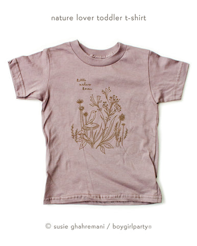 Organic Toddler T-shirt by Susie Ghahremani / boygirlparty.com