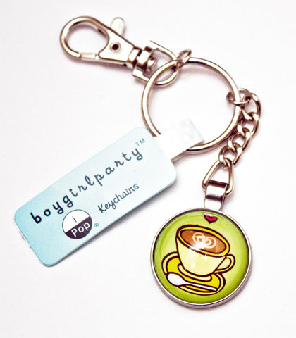 Coffee Keychain by Susie Ghahremani / boygirlparty.com
