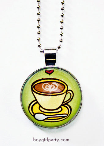 Coffee Necklace by Susie Ghahremani / boygirlparty.com