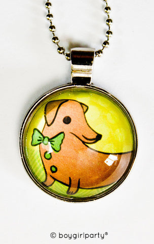 Dachshund Necklace by Susie Ghahremani / boygirlparty.com