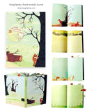 Forest Animals Journal by Susie Ghahremani Boygirlparty for Chronicle Books – http://shop.boygirlparty.com