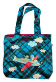 Frequent Flyer Tote Bag by Susie Ghahremani / boygirlparty.com
