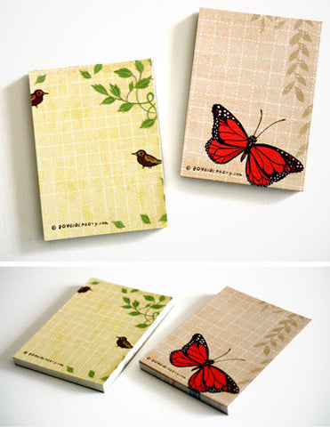 Little Garden Notepad Set by Susie Ghahremani / boygirlparty.com