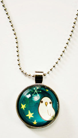 Night Owl Necklace by Susie Ghahremani / boygirlparty.com