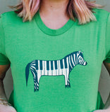 Green Zebra Shirt from http://shop.boygirlparty.com