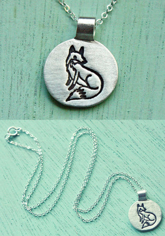 Little Fox Necklace by Susie Ghahremani / boygirlparty.com