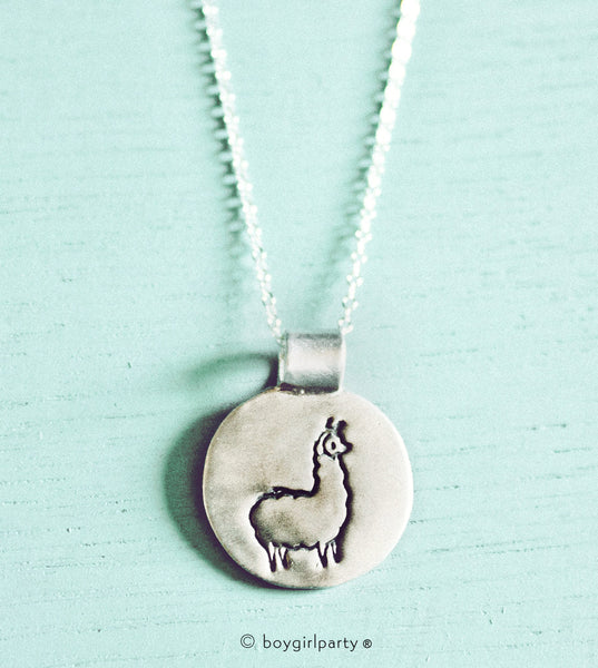 Silver Llama Necklace By Susie Ghahremani Boygirlparty