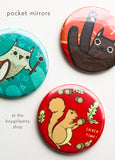 Boygirlparty Pocket Mirrors! (Party Favor / Stocking Stuffer)