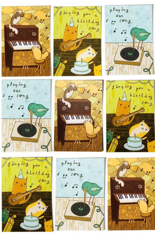 Sale: Musical Notes Card Set (of 18 Notecards with Envelopes)