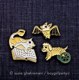 New enamel pins by boygirlparty // http://shop.boygirlparty.com