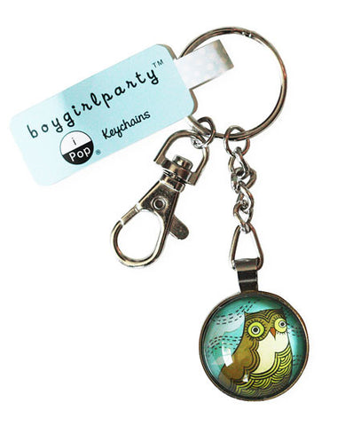 Horned Owl Keychain by Susie Ghahremani / boygirlparty.com