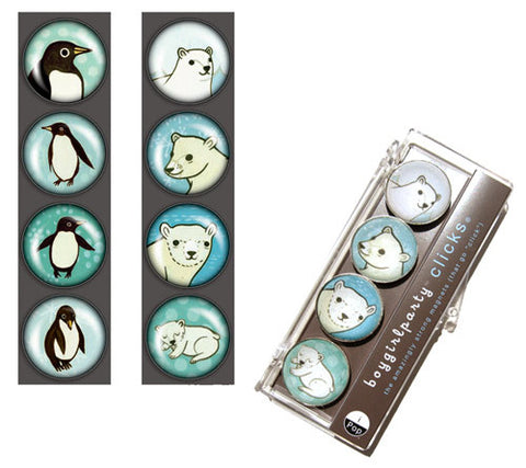 Penguin Magnet Set by Susie Ghahremani / boygirlparty.com