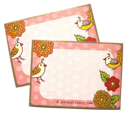 Quail Sticker Set by Susie Ghahremani / boygirlparty.com