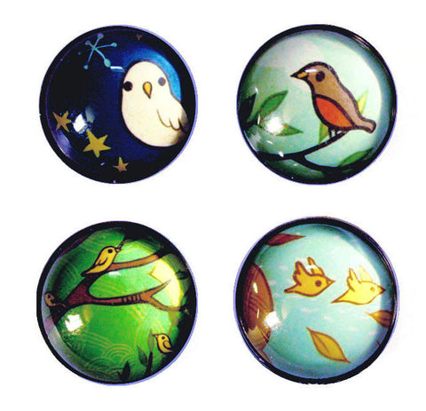 Four Seasons Magnet Set by Susie Ghahremani / boygirlparty.com