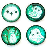 New Snowy Owl Magnet Set by Susie Ghahremani / boygirlparty.com