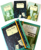 Land-Air-Water Set of 3 Mini Journals by Susie Ghahremani / boygirlparty.com