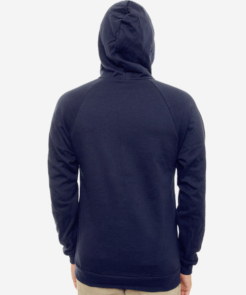 Starry Nights Fitted Raglan Hoodie (Navy)