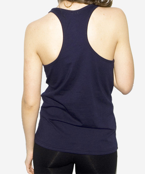 Starry Nights Racerback Tank (Navy)