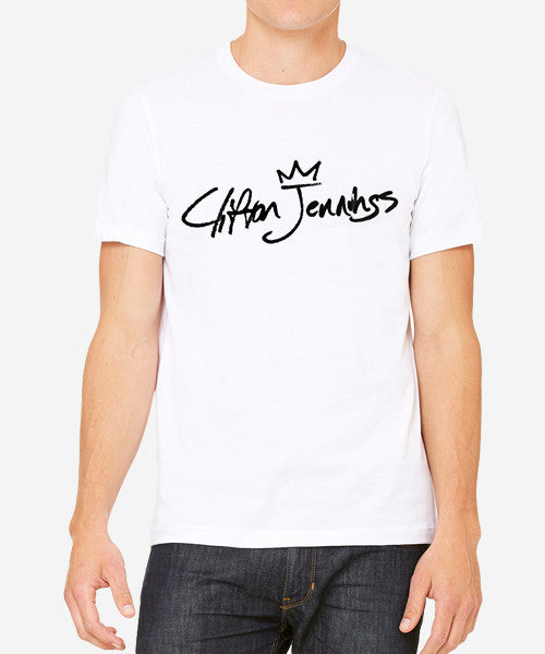 Signature Slim-Fit Tee (White)
