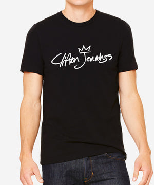 Signature Slim-Fit Tee (Black)