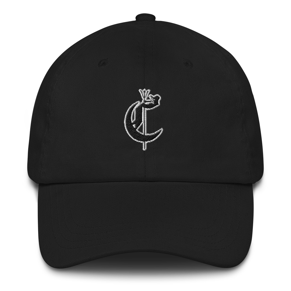 Monogram Ball Cap (Black)