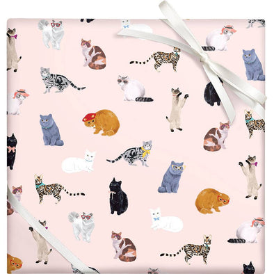 Sophisti-Cats Gift Wrap