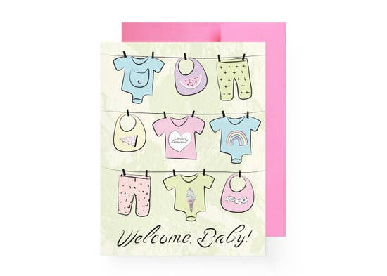 Welcome, Baby Card