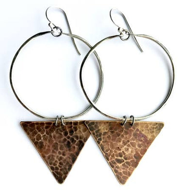 Medium Geometric Earrings