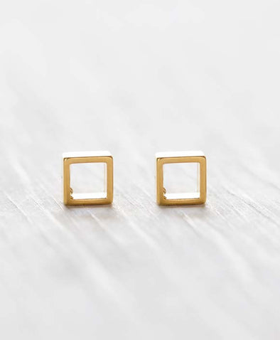 Modern Square Studs - WATERBURY