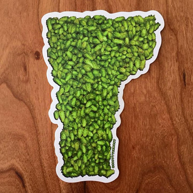 Hoppy Vermont Sticker