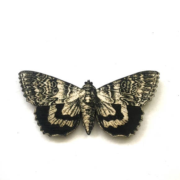 Engraved Butterfly Magnet