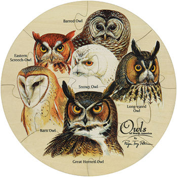 Shaped Jigsaw Puzzle - Owls - WATERBURY