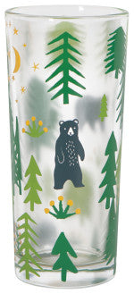 Wild & Free Drinking Glass