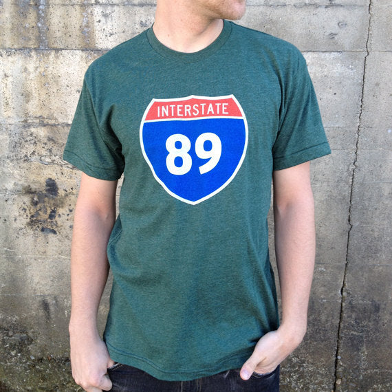 Interstate 89 Unisex T-Shirt
