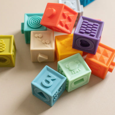 Building Blocks Teether Toy
