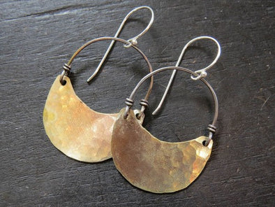 Brass Crescents - Small