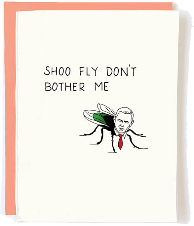 Pence Shoo Fly Greeting Card