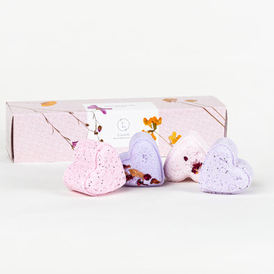 Lavender Heart Shower Steamer