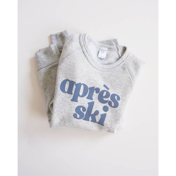 Apres Ski Fleece Sweatshirt - Light Eco Grey