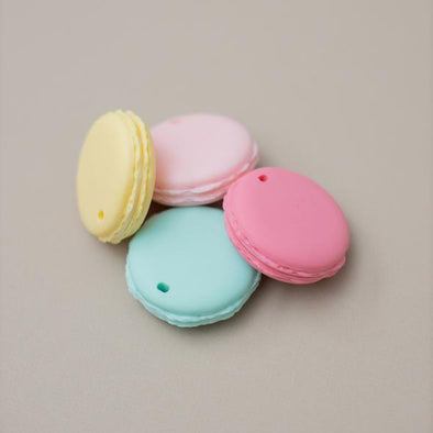 Macarons Silicone Teether