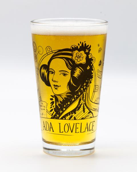 Ada Lovelace Pint Glass