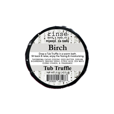 Birch Tub Truffle