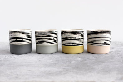 Small Striped Tumblers - Assorted Colors