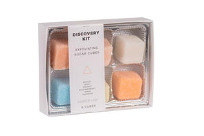 Exfoliating Sugar Cubes - Discovery - Gift Box
