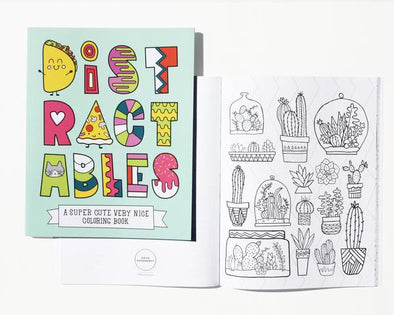 Distractables Coloring Book